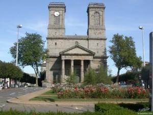 Exterior of St Michel, Plerin